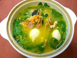 青蟹目魚丸湯【イカ・蟹などの特選スープ】