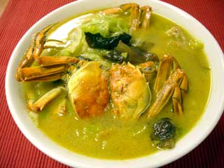 上海蟹湯【上海蟹のスープ】