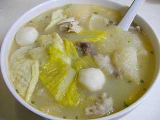 三鮮湯【海鮮スープ】